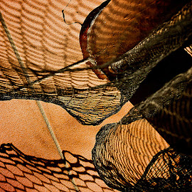 netting  by Magdalena Wysoczanska - Abstract Patterns