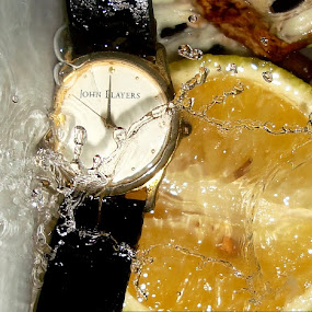 Time Splash by Premkumar Antony - Artistic Objects Other Objects ( water, time, splash, wristwatch )