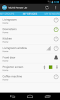 Screenshot of TelLIVE Remote Lite