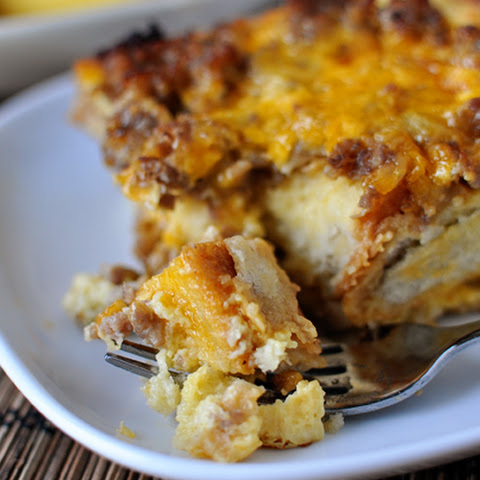 Make-Ahead Sausage and Egg Breakfast Bake