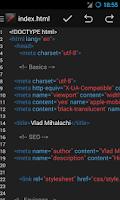 Screenshot of Turbo Editor ( Deprecated )