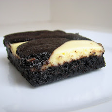 Black-and-White Cheesecake Bars