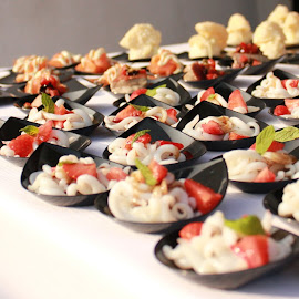 Canape's by Neža Kompare - Food & Drink Plated Food ( food, snacks, slow, delicious, small )