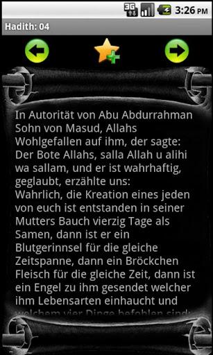 Nawawi's Hadith in German
