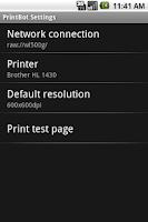 Screenshot of PrintBot