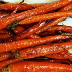 Maple-Glazed Carrots