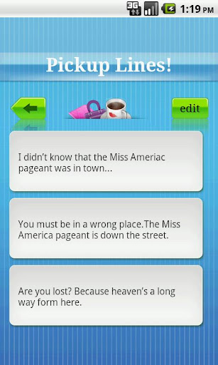 pickup-lines for android screenshot