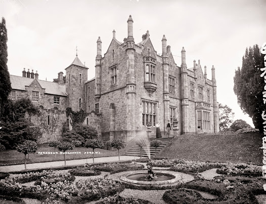 Parkanaur House and gardens, Castlecaulfield, Co. Tyrone (LROY 3945)