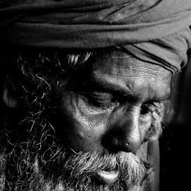 The Thouught by Arnab Bhattacharyya - People Portraits of Men