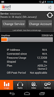 Screenshot of iiNet