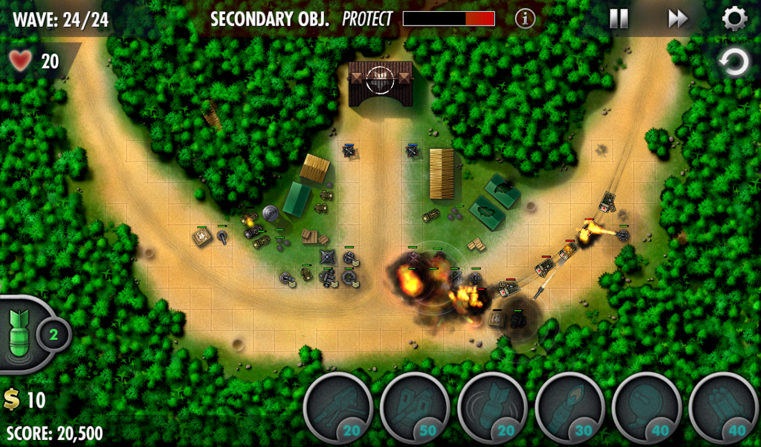 iBomber Defense Pacific Screenshot 8
