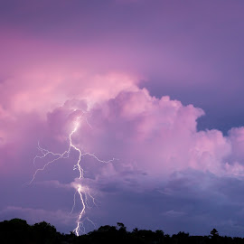 Sunset Storm by Michael Beazley - News & Events Weather & Storms