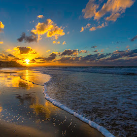 Sunset by Assi Dvilanski - Landscapes Beaches ( sunset, beach )