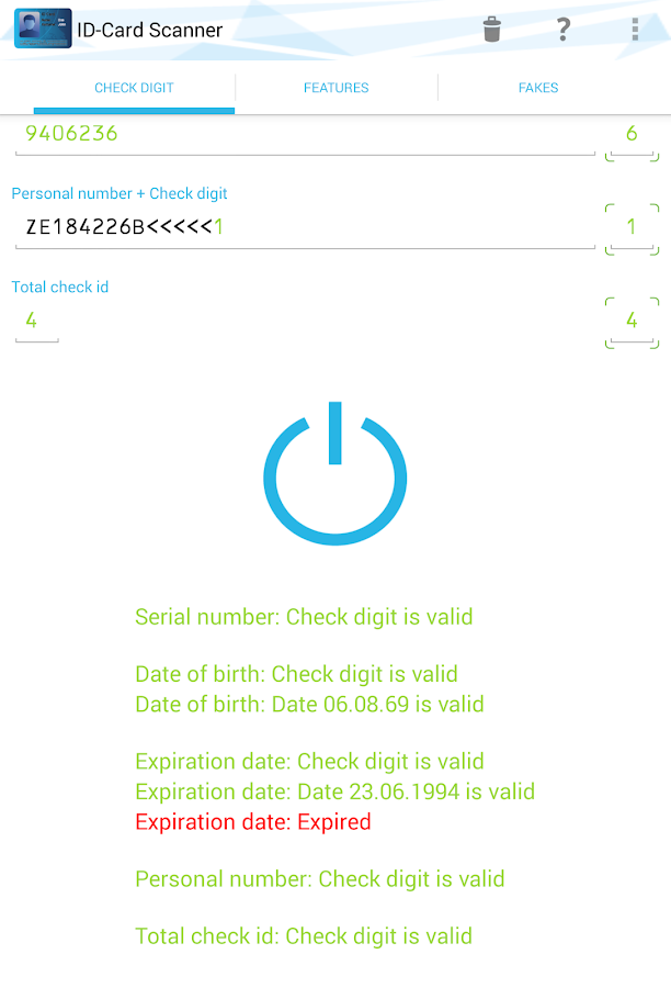ID Card Scanner Pro Screenshot 1