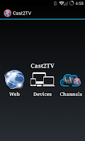Screenshot of Cast2TV-LITE(ChromeCast etc)