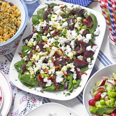 Feta & Beetroot Salad