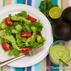 Creamy Avocado Buttermilk Dressing