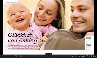 Screenshot of baby&co Sonderhefte