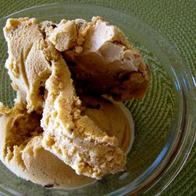 Dairy-free Pumpkin Pie Ice Cream With Chocolate Swirl