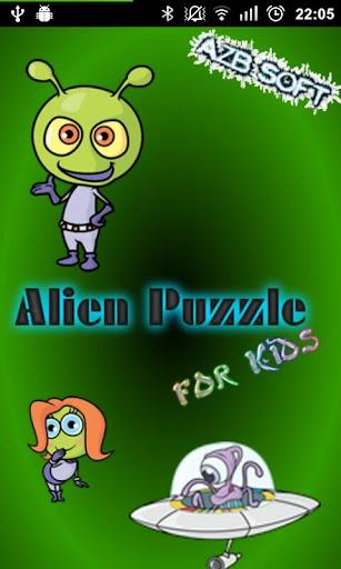 Alien Puzzle for Kids