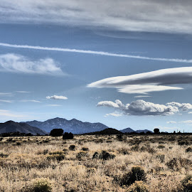 View From atop the Mesa by Rick Cormier - Landscapes Mountains & Hills ( mountains, mesa, la cienega, hiking, new mexico )