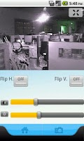 Screenshot of IP Camera Control for Apexis