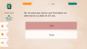 Screenshot of Alternance mode d'emploi
