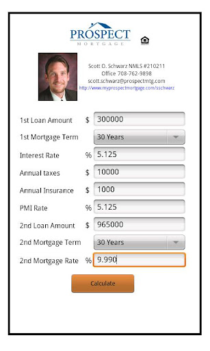 Scott Schwarz Mortgage Calc.