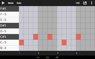 Screenshot of Groove Mixer. Music Beat Maker