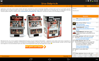 Screenshot of China Gadgets - Die Gadget App