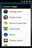 Screenshot of Guitar Clock