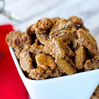 Super Easy Candied Pecans Recipe – Great Snack For The Fall!