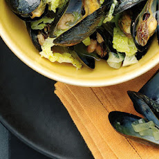 Mussels With Savoy Cabbage And Shrimps