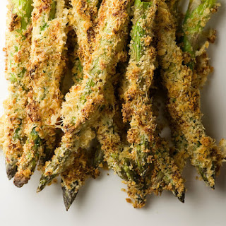 Honey Breadcrumb Asparagus