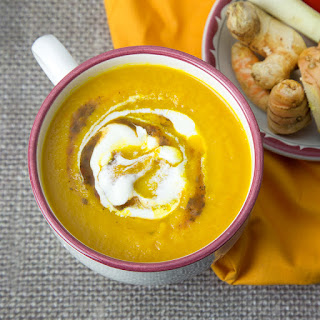 Three Ginger Anti-Inflammatory Carrot Soup