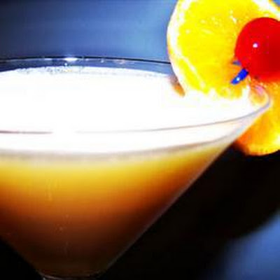Creamy Orange Martini