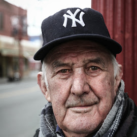 Old Man by Emmett Sparling - People Portraits of Men ( cool, old, intense, man, portrait )
