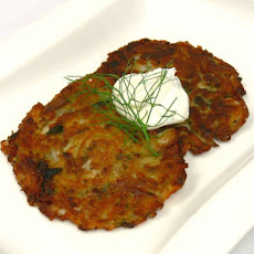 Jumbo Lump Crab Latkes Recipe