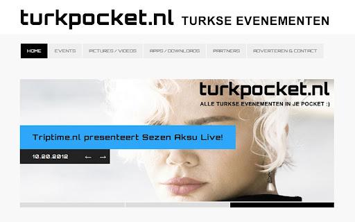Turkpocket Turkse Events App.