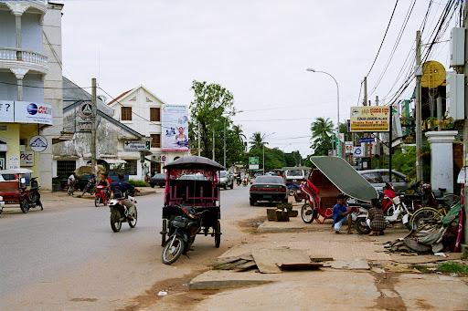 Ulice w Siem Reap