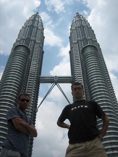 Petronas Tower, bliźniaki