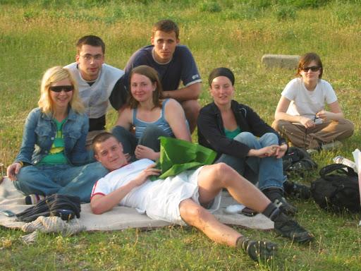 Zabawy na trawie