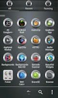 Screenshot of SilverBall2 Go Launcher Theme