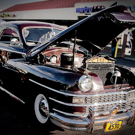Old Classic by Nancy Senchak - Transportation Automobiles