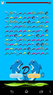 Dolphin Match - screenshot