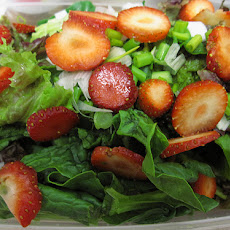 Romaine & Strawberry Salad