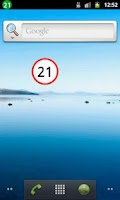 Screenshot of Speed limit (circle)- Battery