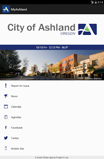 MyAshland - screenshot