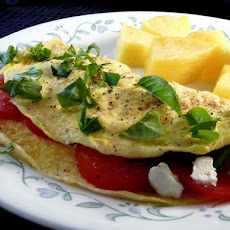 Light Italian Feta Omelet