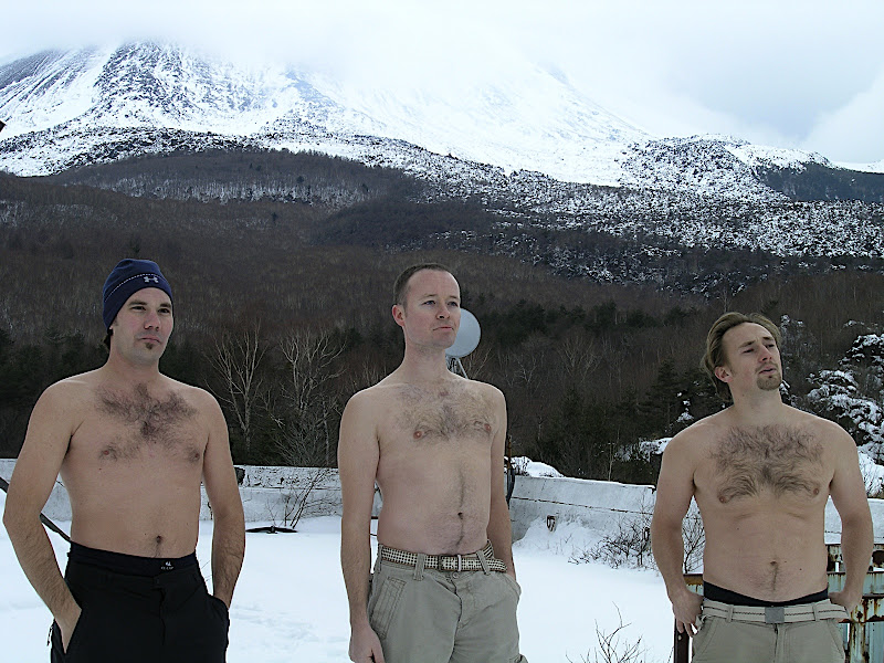 Men and mountain